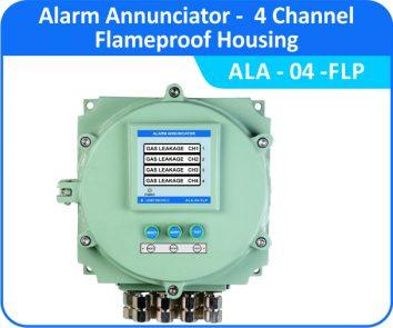 Alarm Annunciator ALA-04-WP (Flameproof Enclosure)