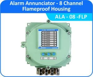 Alarm Annunciators-ALA-08 - 8 Channel with flameproof enclosure