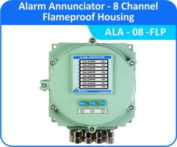 Alarm Annunciator ALA-08-FLP (Flameproof Enclosure)