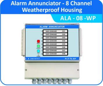 Alarm Annunciator ALA-08-WP (weatherproof Enclosure)