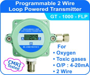 Loop Powered Transmitters GT-1000 with flameproof enclosure