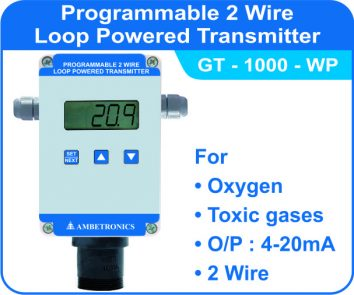 Loop Powered Transmitters GT-1000 with weatherproof enclosure