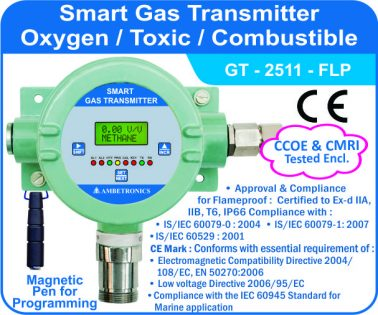 Smart Gas Transmitter GT-2511 with flameproof enclosure