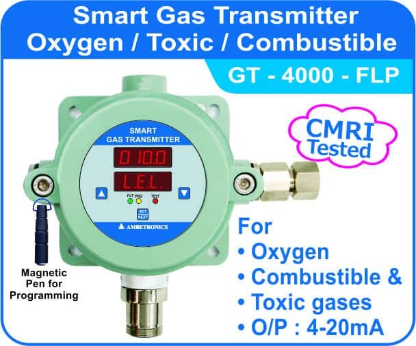 Smart Gas Transmitter GT-4000 with flameproof enclosure