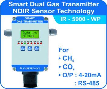 Smart Gas Transmitters IR-5000 with weatherproof enclosure
