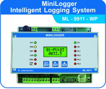 MiniLogger Intelligent Logging System ML-9911-WP (Weatherproof Enclosure)