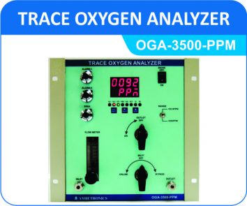Trace Oxygen Analyzer OGA-3500-PPM (Panel Enclosure)