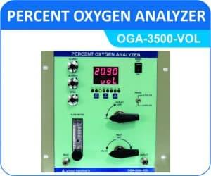 Percent Oxygen Analyzer OGA-3500-VOL (Panel Mount Enclosure)