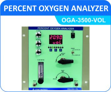 Percent Oxygen Analyzer OGA-3500-VOL (Panel Mount Enclosure)