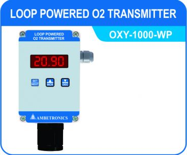 Loop Powered O2 Transmitter OXY-1000-WP (Weatherproof Enclosure)