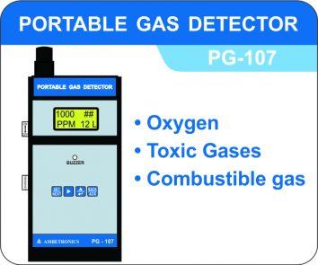 Portable Gas Detector PG-107