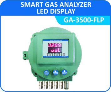 Smart Gas Analyzer GA-3500-FLP with Flameproof Enclosure