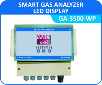 Smart Gas Analyzer GA-3500-WP with Weatherproof Enclosure