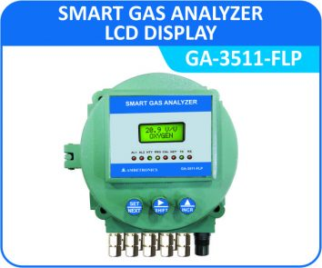 Smart Gas Analyzer GA-3511-FLP with Flameproof Enclosure