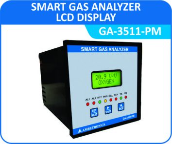 Smart Gas Analyzer GA-3511-PM with Panel Enclosure