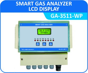 Smart Gas Analyzer GA-3511-WP with Weatherproof Enclosure