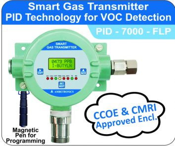 Smart gas transmitter PID-7000-FLP (Flameproof Enclosure)