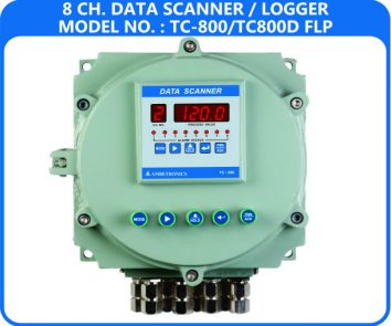 16 Channel Data Logger TC-800D-FLP (Flameproof Enclosure)
