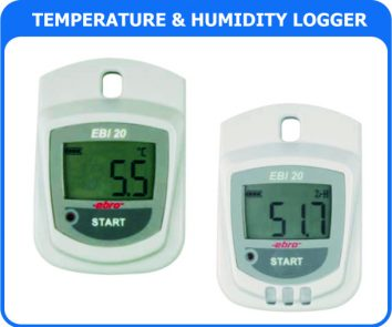 Temperature- Humidity Data Logger EBI-20TH