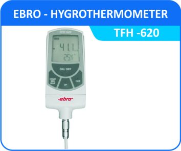Hygrometers ebro-tfh-620