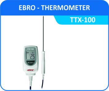 Industrial Thermometer ebro-ttx-100