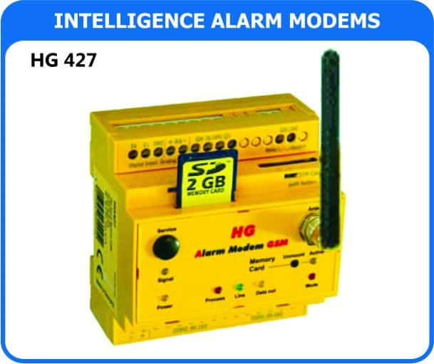 Intelligent Alarm Modem- Used for integration with other process equipment.