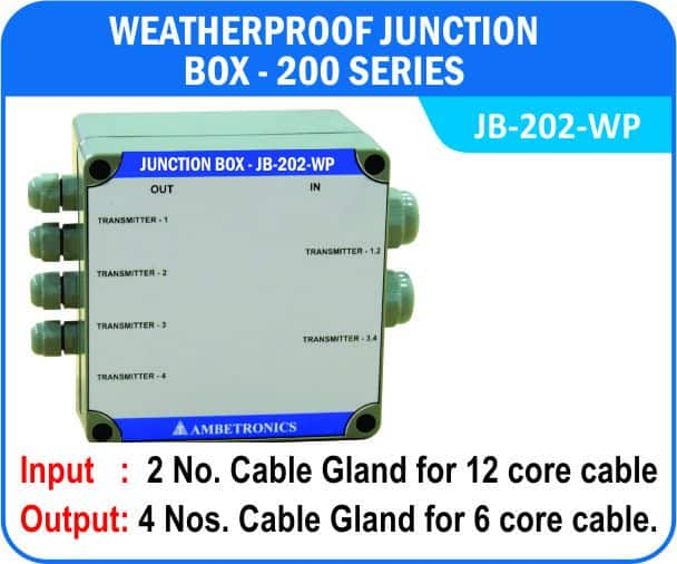 Junction Box-200 Series- JB-202-WP