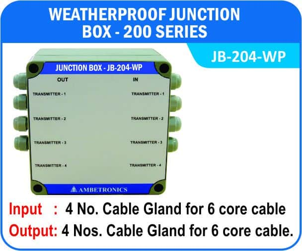 Junction Box-200 Series- JB-204-WP