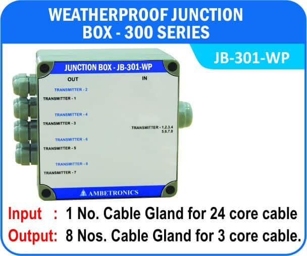 Junction Box-300 Series- JB-301-WP