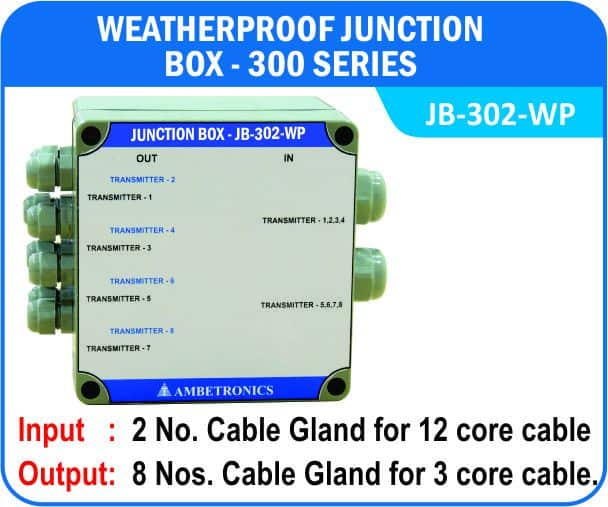 Junction Box-300 Series- JB-302-WP