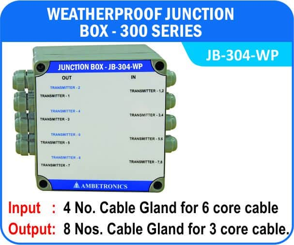 Junction Box-300 Series- JB-304-WP