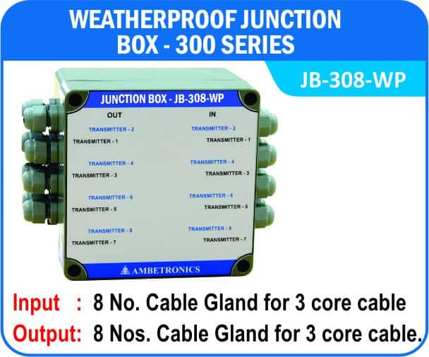 Junction Box-300 Series- JB-308-WP