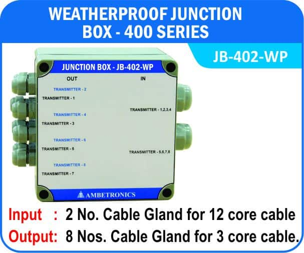 Junction Box-400 Series- JB-402-WP