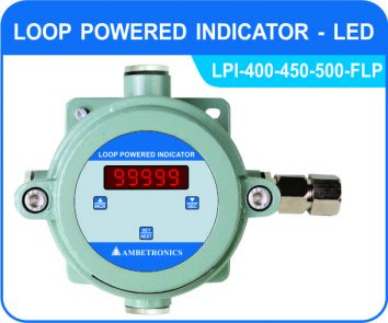 Loop powered indicator LPI-400/450/500-FLP (Flameproof Enclosure)