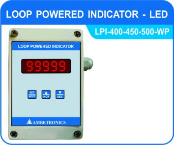 Loop powered indicator LPI-400/450/500-WP (Weatherproof Enclosure)