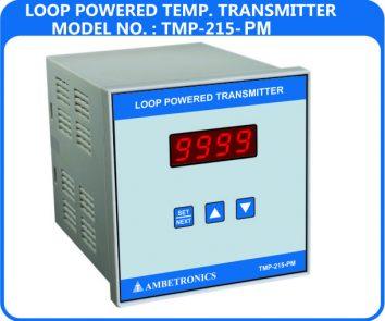 Loop powered temperature transmitter TMP-215-PM