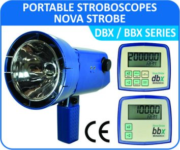 Monarch Nova Strobe-DBX / BBX series stroboscope