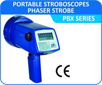 Portable Stroboscopes- Phaser Strobe PBX series