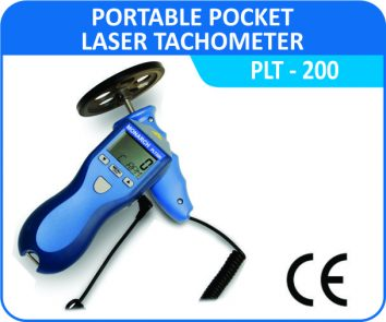 Portable Pocket Laser Tachometer Monarch-PLT-200