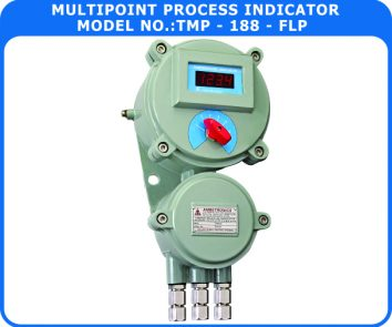 Multipoint Process Indicator TMP-188-FLP (Flameproof Enclosure)