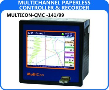 Simex Multicon Paperless Data Recorders CMC-141/99