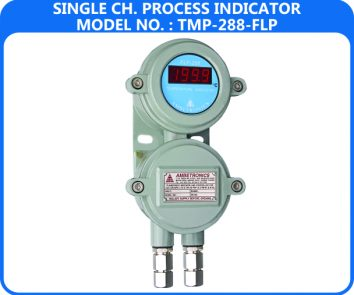 Single Channel Process Indicator TMP-288-FLP (Flameproof Enclosure)