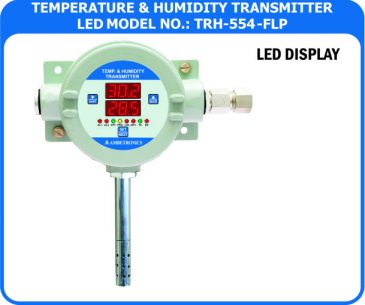 Temperature / Humidity transmitter TRH-554-FLP (Flameproof Enclosure)