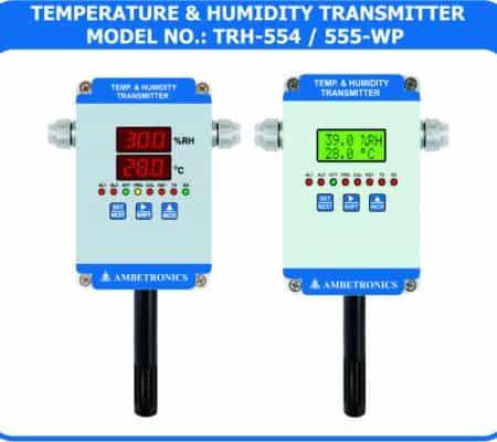 Temperature & humidity Transmitter TRH-554 / 555-WP (weatherproof Enclosure)