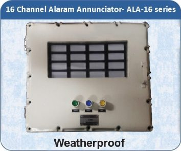 Alarm Annunciators ALA-16 - 16 Channel with weatherproof enclosure