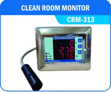 Clean Room Monitor- CRM-313