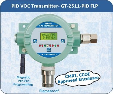 PID VOC Transmitter- GT-2511-PID with flameproof enclosure