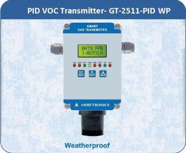 PID VOC Transmitter- GT-2511-PID with weatherproof enclosure