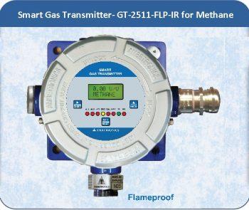 Smart Gas Transmitter- GT-2511-FLP-IR Methane