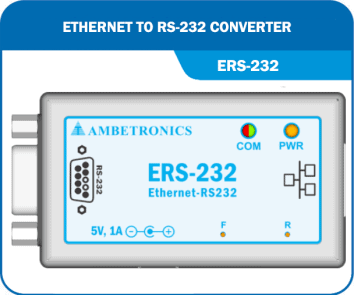 Ethernet to RS-232 Converter- ERS-232